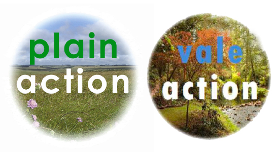 Plain Action and Vale Action LEADER Programme Logos